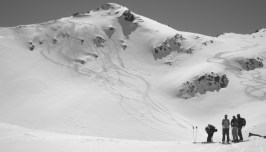 touring back bowls Mt Olympus Mission WOW women ski backcountry