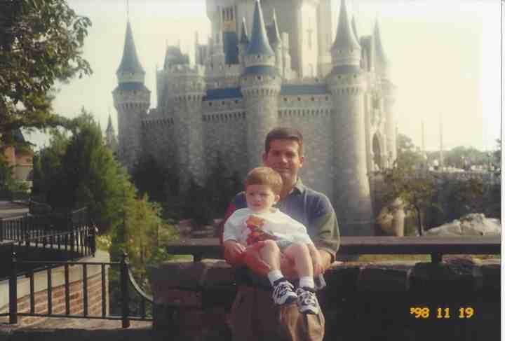 Craig and Ian at Cinderella's Castle