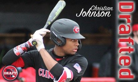 First Part of the Journey Ex-Clinton High star Johnson debuts in pro baseball – By Mike Christensen