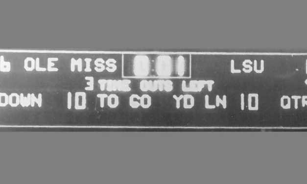 LSU vs. Ole Miss: When 4 seconds last a lifetime- By Billy Watkins