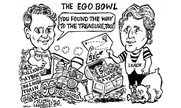 The Ego Bowl by Ricky Noble