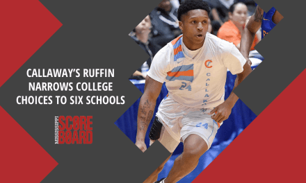 Callaway's Ruffin Narrows College Choices To Six Schools — by Robert Wilson