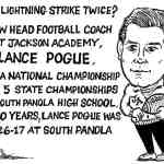Can Lightning Strike Twice – Cartoon by Ricky Nobile
