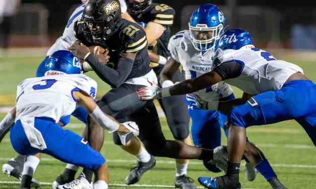 Northwest Rankin runs through Meridian 35-14 at home – Photos by Hays Collins