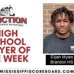 Junction Deli Player of the Week – by Robert Wilson