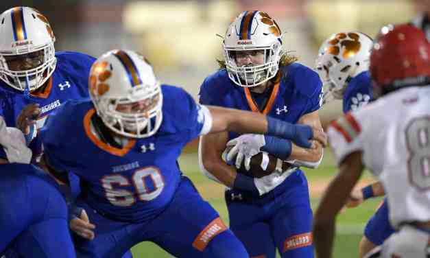 Madison Central takes care of Clinton 35-14 despite losing their starting quarterback – Photos by Chris Todd