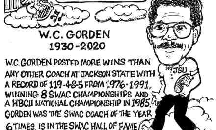 W.C. Gordan – Cartoon by Ricky Nobile