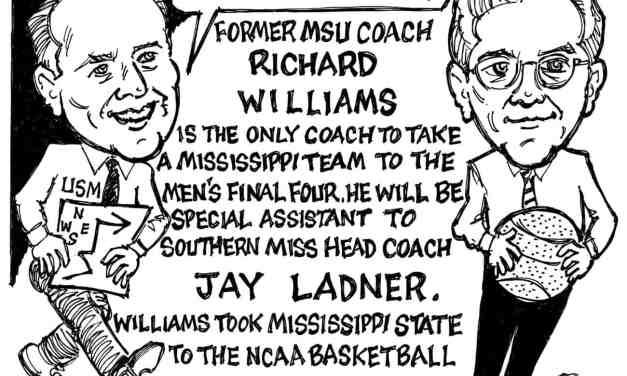 Richard Williams Cartoon – By Ricky Nobile