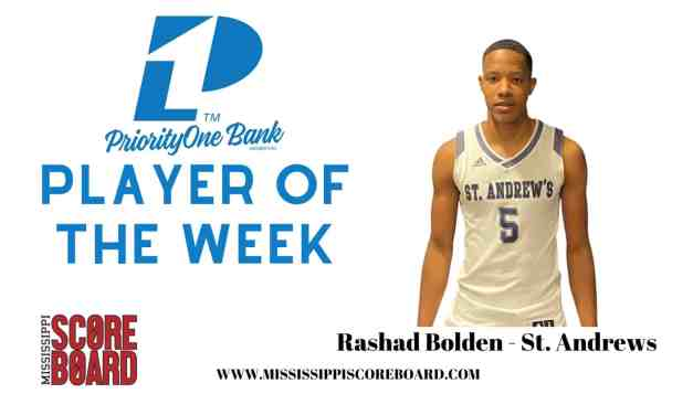 PriorityOne Bank Boys Basketball Player of the Week – 12-23