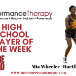 Performance Therapy Girls Player of the Week – 1-12