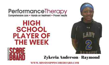 Performance Therapy Girls Player of the Week – 1-21