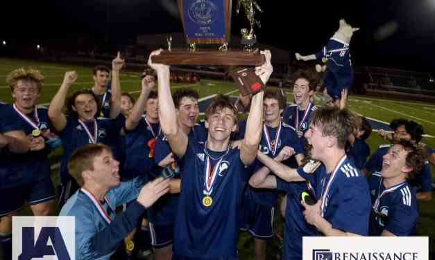 JA beat Prep 6-3 for MAIS Division 1 boys soccer championship, ending Prep's 10 years as state champion – Photo Gallery