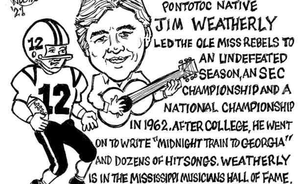 Jim Weatherly Cartoon – By Ricky Nobile