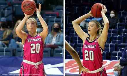 CONLEY CHINN, NOW A BASKETBALL STAR AT BELMONT UNIVERSITY, GOT HER WORK ETHIC FROM WATCHING SISTERS PLAY FOR JACKSON ACADEMY — by Robert Wilson
