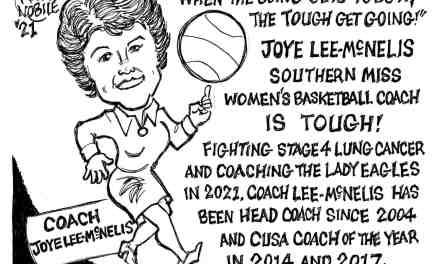 Joye Lee-McNelis Cartoon – By Ricky Nobile