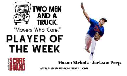 Two Men and A Truck Baseball Player of the Week – 3-31
