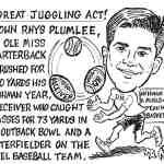John Rhys Plumlee Cartoon – By Ricky Nobile
