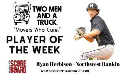 Two Men and A Truck Baseball Player of the Week – 4-21