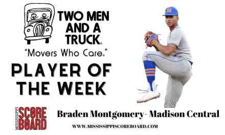 Two Men and A Truck Baseball Player of the Week – 4-15