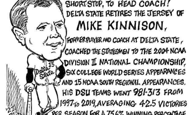 Mike Kinnison Cartoon – By Ricky Nobile