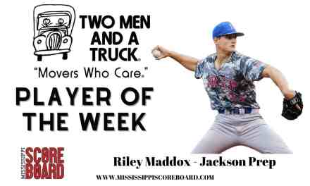 Two Men and Truck Baseball Player of the Week – 5-20