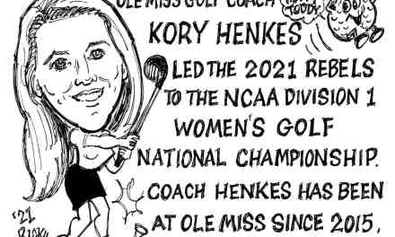 Ole Miss Women's Golf National Champs Cartoon – By Ricky Nobile