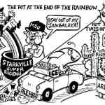 Super Regionals for State and Ole Miss Cartoon – By Ricky Nobile