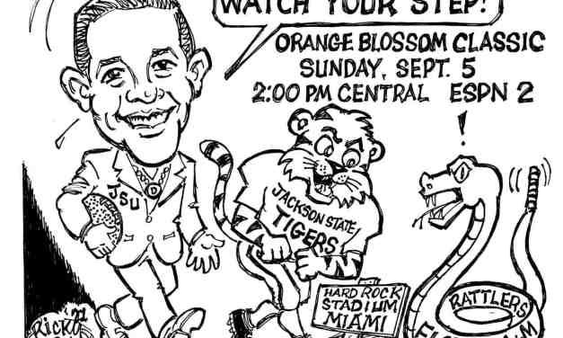 JSU Opening Football Season Cartoon – By Ricky Nobile
