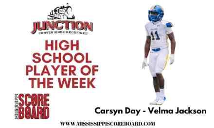 Junction Deli High School Football Player of the Week – 8-31
