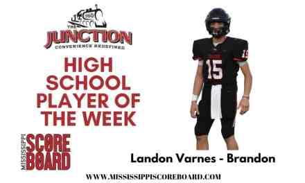 JUNCTION DELI HIGH SCHOOL FOOTBALL PLAYER OF THE WEEK – 9-14