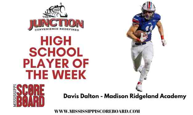 Junction Deli High School Football Player of the Week – 10-5