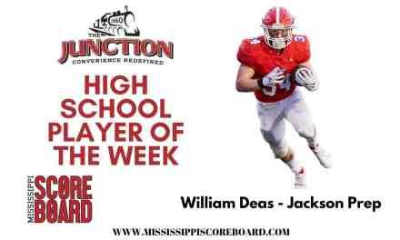Junction Deli High School Football Player of the Week – 10-20