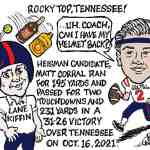 Rocky Top vs Ole Miss Cartoon – By Ricky Nobile
