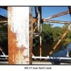 Rusting bridge on Mississippi Highway 57