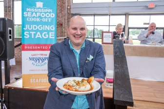 Mississippi Seafood Experience and cook-off at Climb CDC in downtown Gulfport, Mississippi, May 26, 2016. Photo by James Edward Bates.