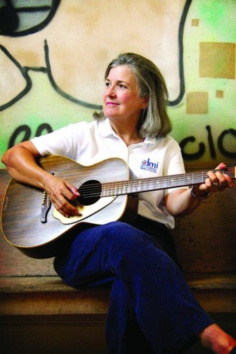 Songwriter Tricia Walker, head of the Delta Music Institute at Delta State University, is a returning festival performer.