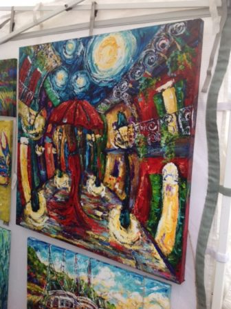 Art on display at the annual Peter Anderson Festival in Ocean Springs