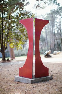 red-robert-crowell-sculpture