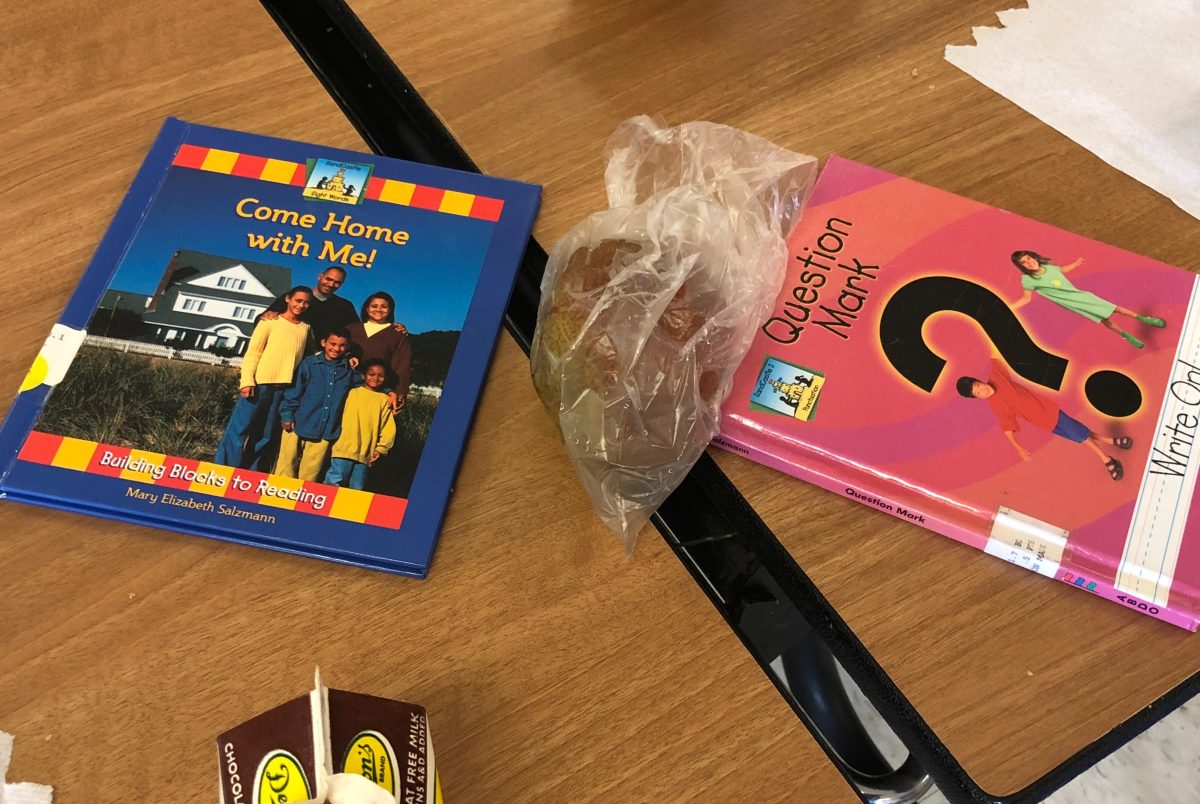 Books for students to read at Jonestown Elementary School