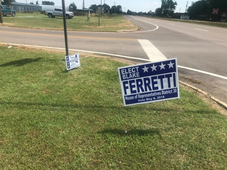 Blake Ferretti and Tracey Rosebud are campaigning for a vacant House seat