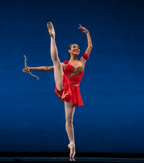 "Jury award of encouragement winner Veronica Atienza in ""Esmeralda,"" Round III of the USA IBC"