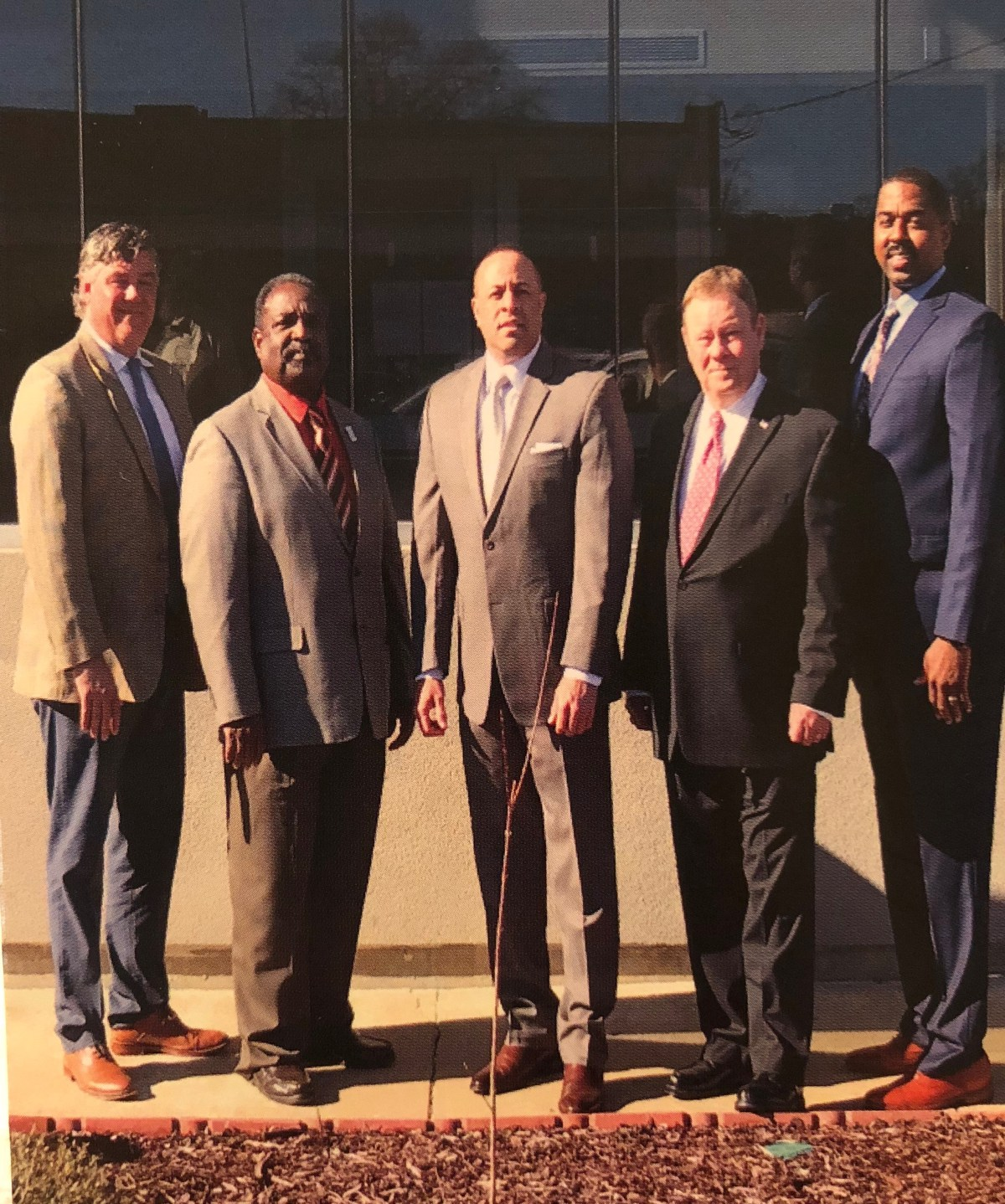 Ken Murphy, Ed Seals, Chuck Espy, Bo Plunk, and Willie Turner, Jr.
