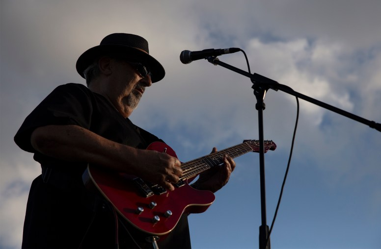 Danny Hebert performs with Short Circuit during the Blessing of the Classics in the 22nd Annual Cruisin' The Coast event in Diamondhead Wednesday, October 3, 2018.