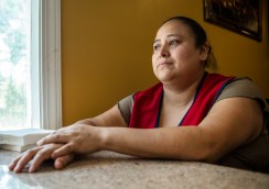 """""""She has done nothing wrong! … She doesn't have a record!"""" Maria Armenta Pita cried, referring to the detainment of Griselda Salas, Pita's sister and mother of 11-year-old Justin."""