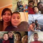 A collage of Griselda Salas with her son, Justin Alexander Armenta. Salas was detained at Koch Foods Inc., on Aug. 7, 2019.