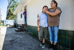 Maria Armenta Pita now takes care of her nephew, 11-year-old Justin Alexander Armenta, since his mother, Griselda Salas, was detained during the raids in Morton. Pita has taken on the responsibility of taking care of Justin while his father works extra hours to support the family.
