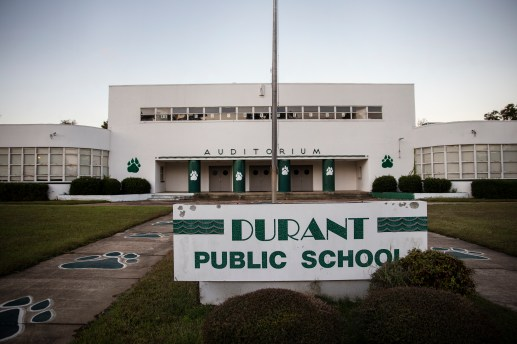 Durant Elementary in Durant, Miss., Thursday, October 31, 2019.