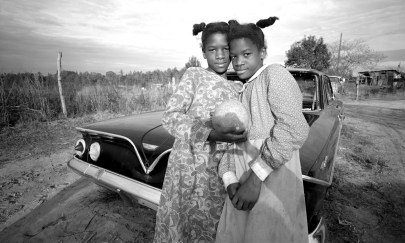 USA. Vossburg, Mississippi, 1974. Twins