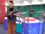 """""""I'm nervous, but excited at the same time,"""" said entreprenuer Grace Jackson of Natchez at the soon to open clothes boutique, """"Stitched,"""" at the Metrocenter Mall in Jackson."""