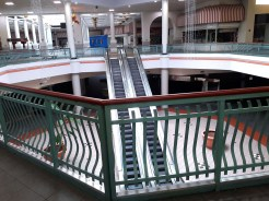 """Food Court area at Metrocenter Mall in Jackson where renovations are underway in preparation for a """"soft opening"""" of a portion of the upper level later this month."""